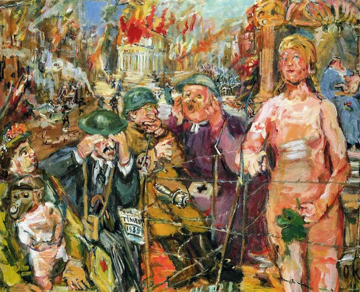 Anschluß - Alice in Wonderland - Oskar Kokoschka