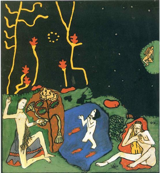The Awakenings, 1917 - Oskar Kokoschka