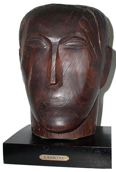 Human head, 1928 - Ossip Zadkine