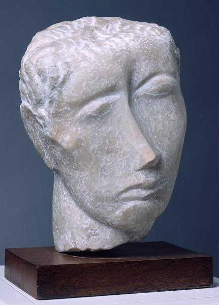 Human head, 1943 - Ossip Zadkine