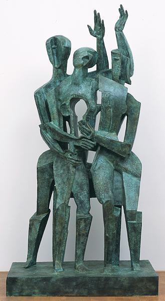 The return of the prodigal son, 1964 - Ossip Zadkine