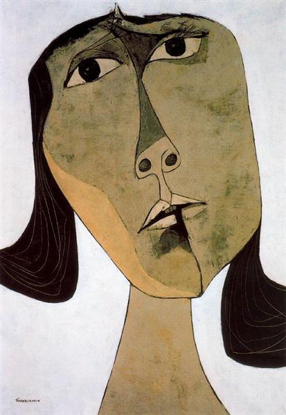 Homenaje a Tania nº 1, 1969 - Oswaldo Guayasamín