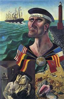 otto dix paintings ww1