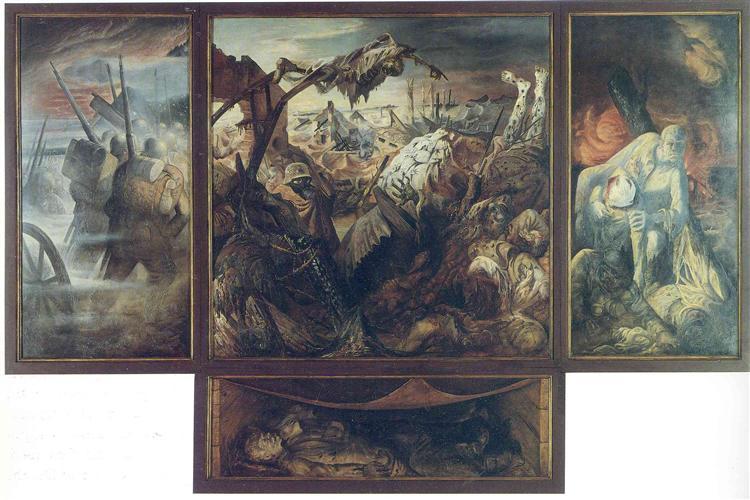 War - Otto Dix