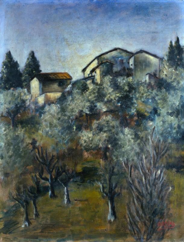 Paesaggio, 1922