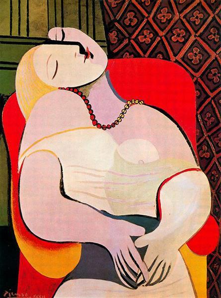A dream, 1932 - Pablo Picasso
