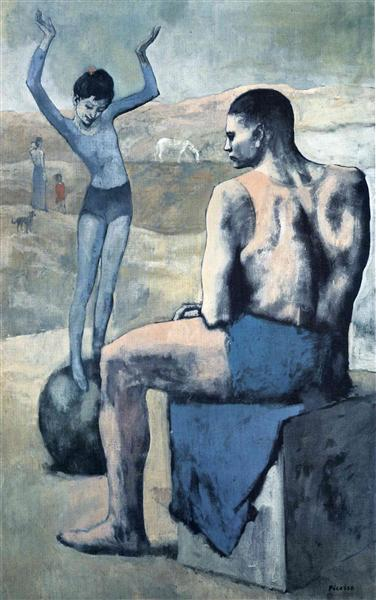 Girl on the ball - Pablo Picasso
