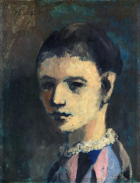 Harlequin's Head, 1905 - Pablo Picasso