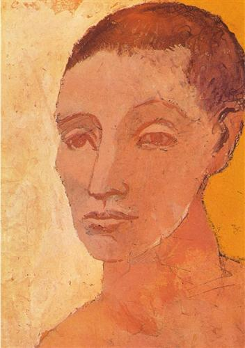 Head of young man - Pablo Picasso