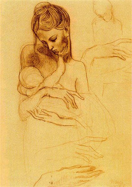 Mother and Child, 1905 - Pablo Picasso - WikiArt.org
