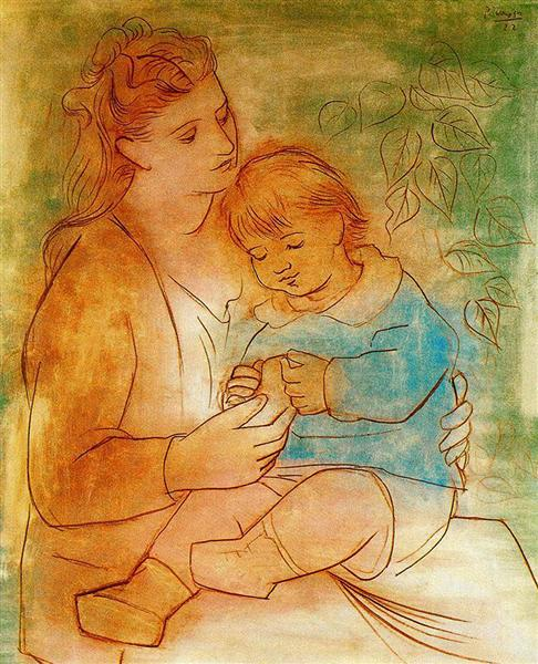 Mother and child, 1922 - Pablo Picasso