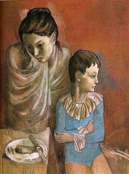 Mother and child (Baladins), 1905 - Pablo Picasso