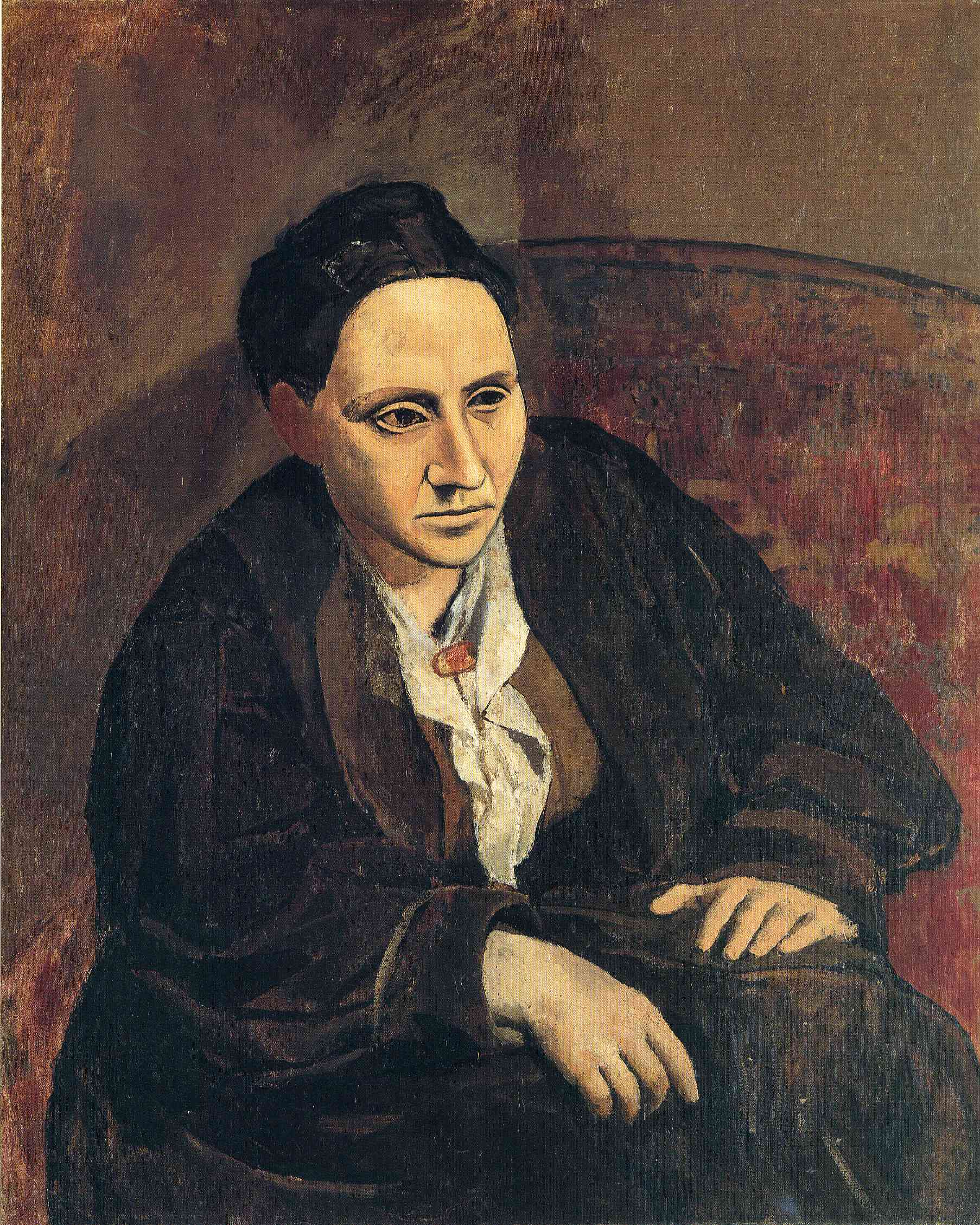 Portrait of gertrude stein portrait de gertrude stein