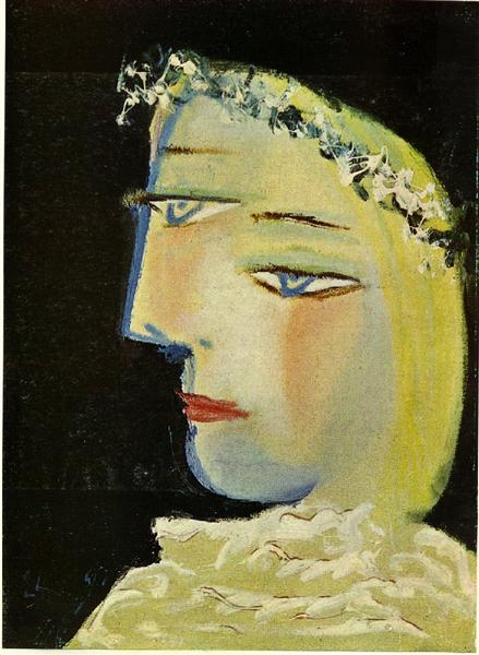 Portrait of Marie-Therese, 1937 - Pablo Picasso - WikiArt.org