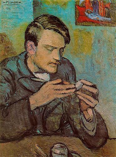 Portrait of Mateu Fernandez de Soto - Pablo Picasso