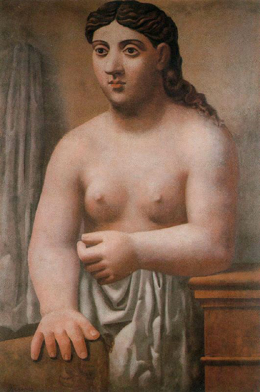 Standing nude, 1920