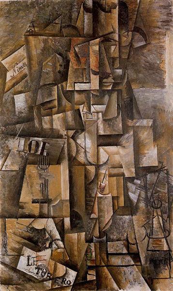 The aficionado (The torero), 1912 - Pablo Picasso