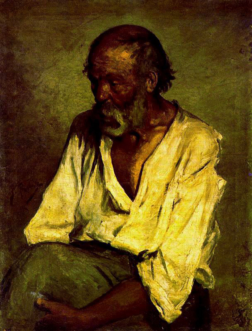 The old fisherman - Pablo Picasso - WikiArt.org ...