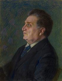 E. Lalayan portrait - Panos Terlemezian