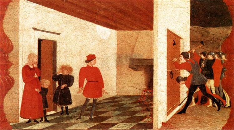 Miracle Of The Desecrated Host, 1465 - 1469 - Paolo Uccello