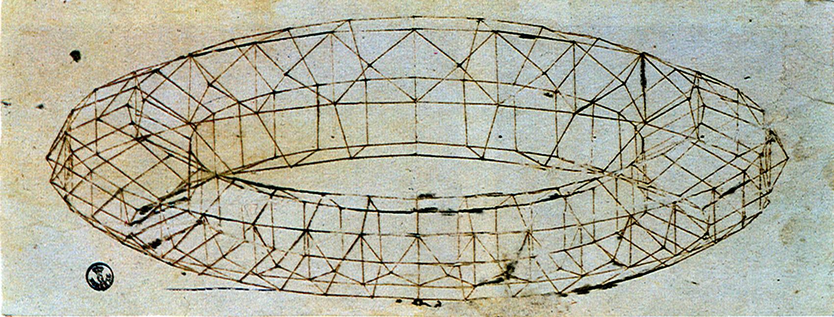 perspective study of mazzocchio - paolo uccello