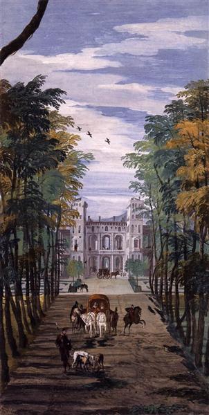 Villa Barbaro (detail), 1560 - 1561 - Paolo Veronese