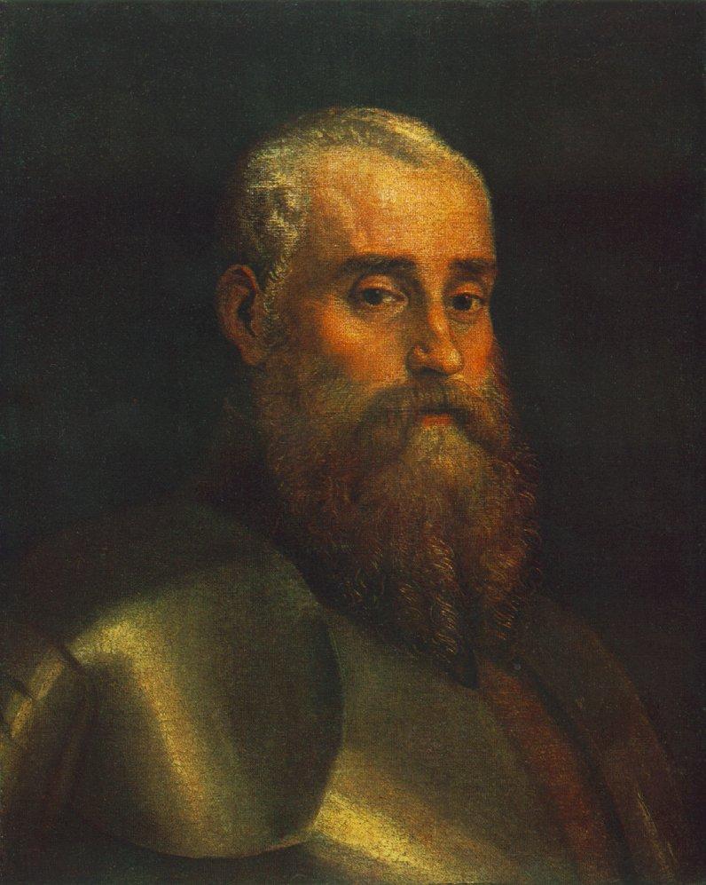 Paolo Veronese, (1528-1588) Portrait-of-agostino-barbarigo