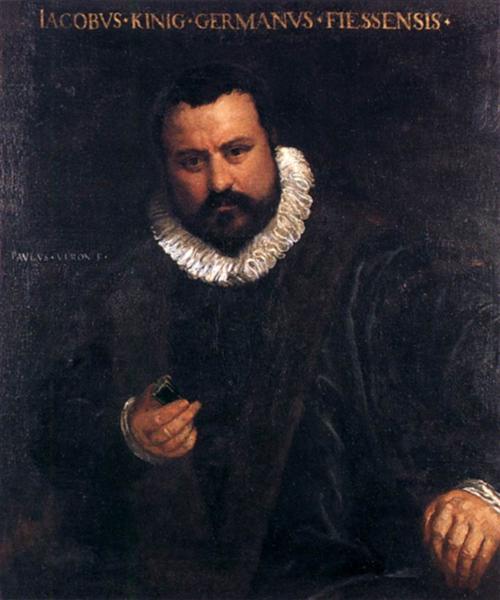 Portrait of Johann Jakob, 1575 - 1580 - Paolo Veronese