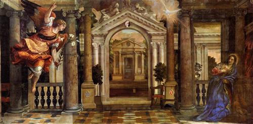 The Annunciation - Paolo Veronese