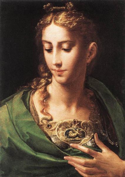 Pallas Athene, c.1539 - Parmigianino