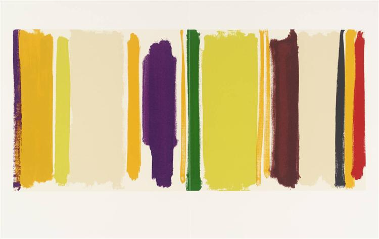 Untitled (From The Shapes of Colour), 1978 - Patrick Heron