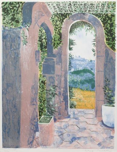 Corfu, 1989 - Patrick Procktor