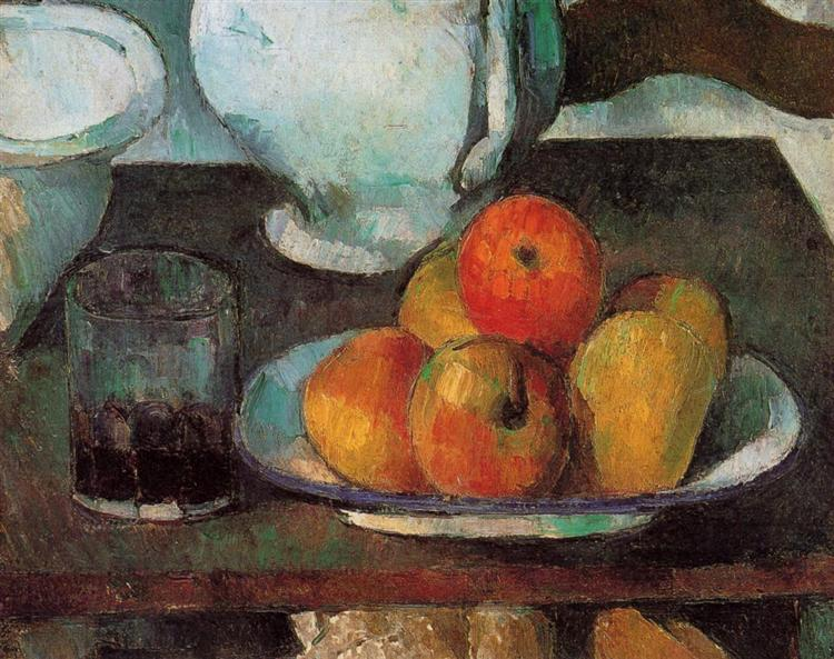 Still Life with Apples, c.1879 - Paul Cezanne