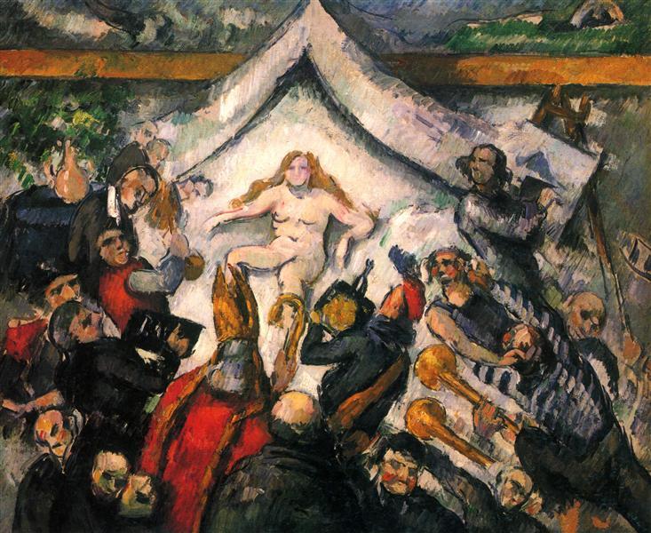 The Eternal Woman, 1877 - Paul Cezanne