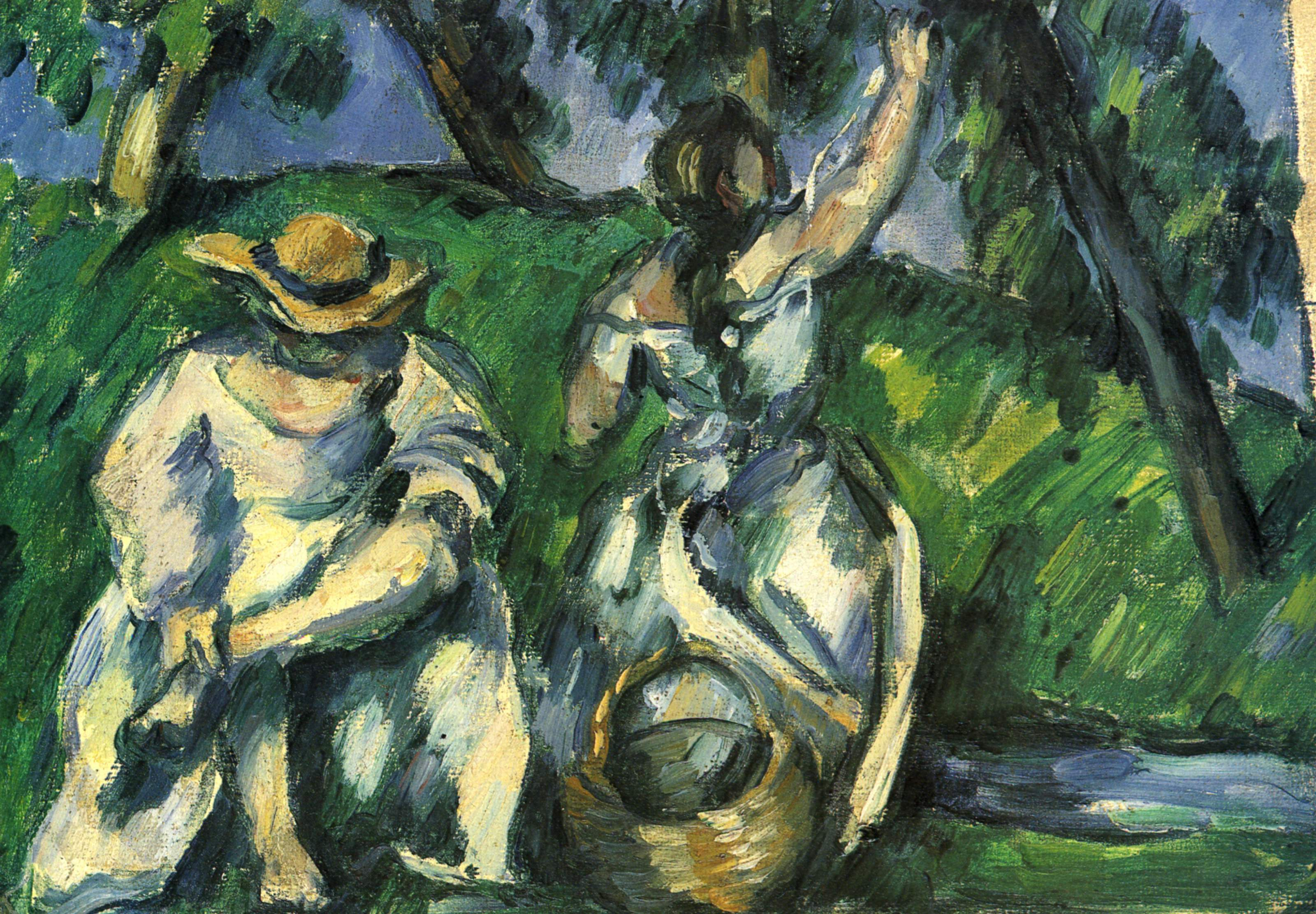 facts about cezanne The musée d'orsay is a national museum in paris, france, on the left bank of the seine opposite the louvre and facing towards the river it is housed in a.