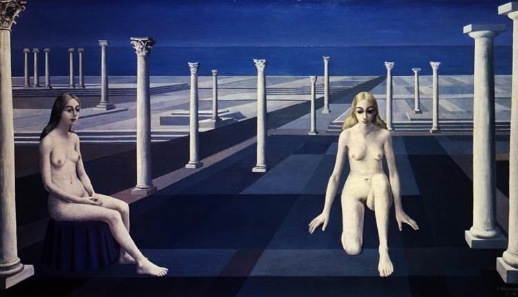 Dialogue - Paul Delvaux