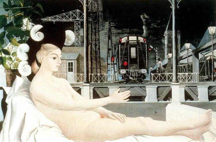 Iron age, 1951 - Paul Delvaux