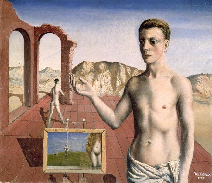 Narrator, 1937 - Paul Delvaux
