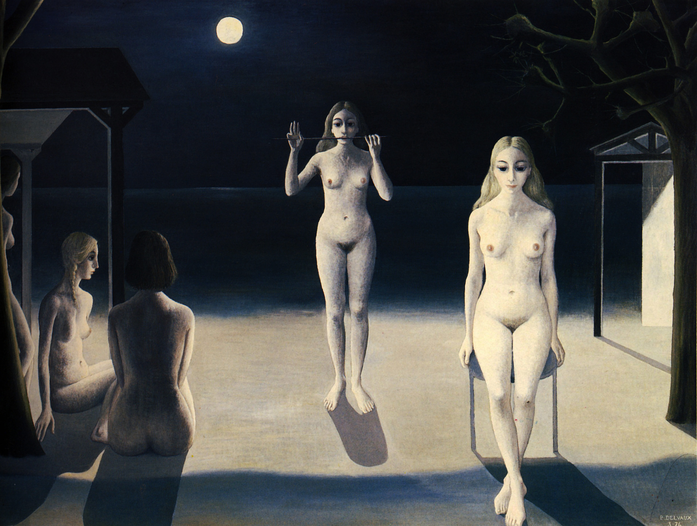 Paul Delvaux Gallery Night Sea Paul Delvaux