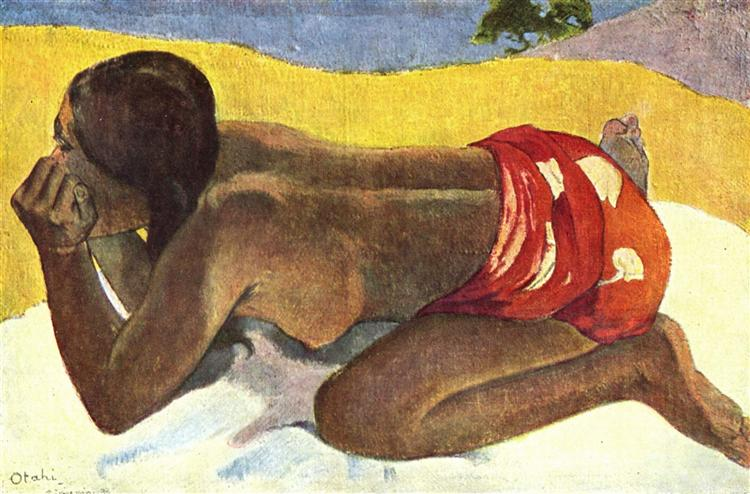 Alone - Gauguin Paul