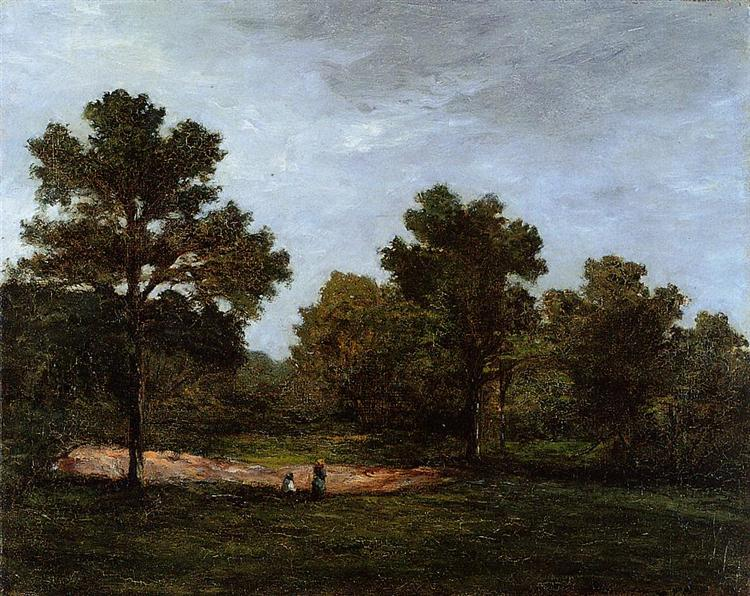 Clearing, 1873 - Paul Gauguin