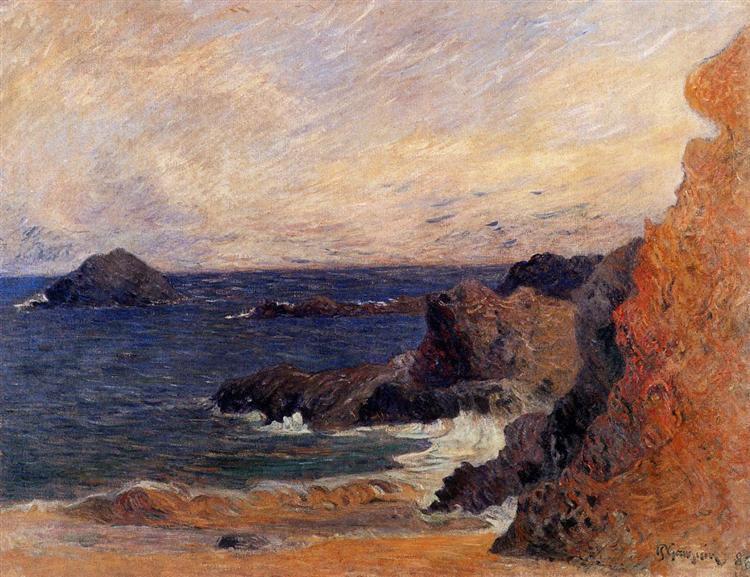 Coastal landscape, 1886 - Paul Gauguin