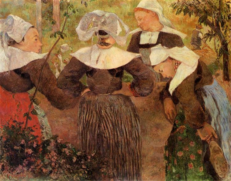 Four Breton Women, 1886 - Paul Gauguin