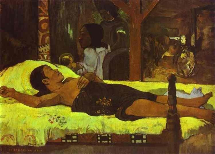 Nativity, 1896 - Paul Gauguin