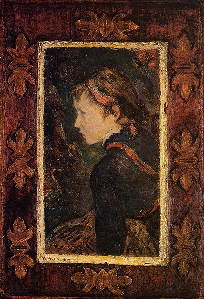 Portrait of Aline, 1884 - Paul Gauguin