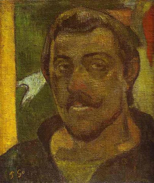 Self Portrait, c.1890 - Paul Gauguin