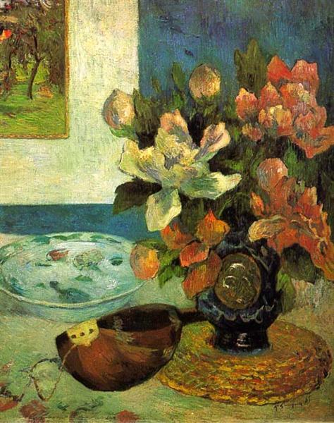 Still Life with a Mandolin, 1885 - Paul Gauguin