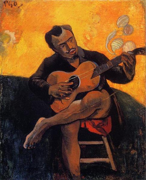 The guitar player, 1894 - Paul Gauguin
