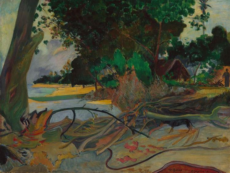 The hibiskus tree, 1892 - Paul Gauguin