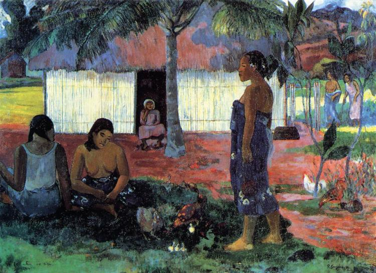 Why Are You Angry?, 1896 - Paul Gauguin